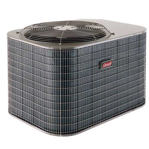 Coleman heat pump heating cooing