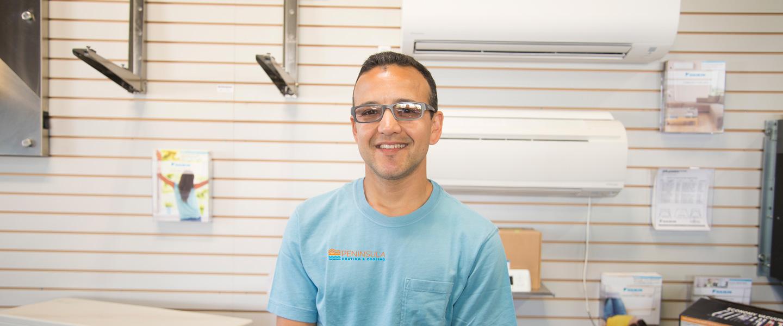 heating cooling company technician