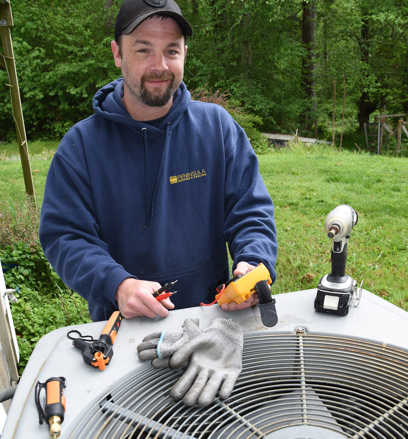 heating cooling services Kitsap County